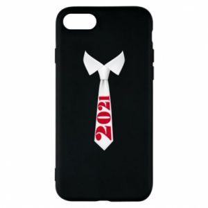 Etui na iPhone 8 Krawat Sylwestrowy