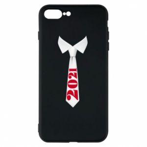 Etui na iPhone 8 Plus Krawat Sylwestrowy