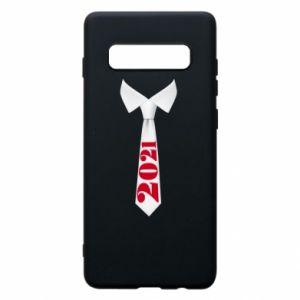 Etui na Samsung S10+ Krawat Sylwestrowy