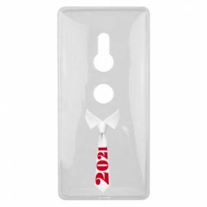 Etui na Sony Xperia XZ2 Krawat Sylwestrowy