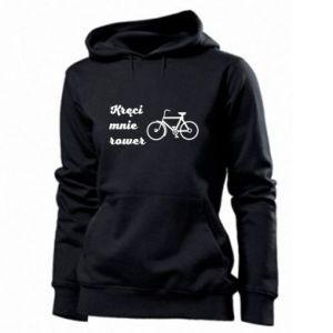 Damska bluza Kręci mnie rower!