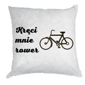 Poduszka Kręci mnie rower!