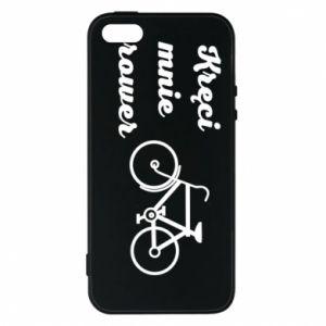 Etui na iPhone 5/5S/SE Kręci mnie rower!