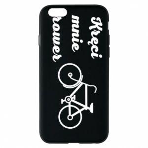 Etui na iPhone 6/6S Kręci mnie rower!