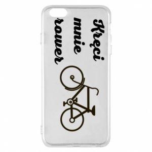 Etui na iPhone 6 Plus/6S Plus Kręci mnie rower!