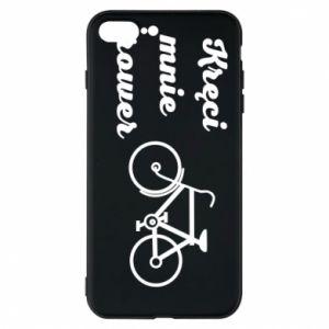 Etui na iPhone 7 Plus Kręci mnie rower!