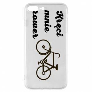 Etui na iPhone 8 Plus Kręci mnie rower!