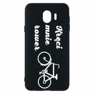 Etui na Samsung J4 Kręci mnie rower!