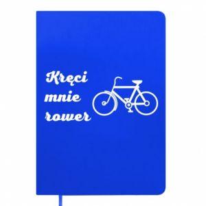 Notes Kręci mnie rower!