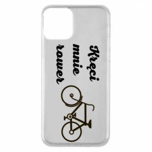Etui na iPhone 11 Kręci mnie rower!