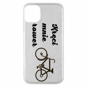 Etui na iPhone 11 Pro Kręci mnie rower!