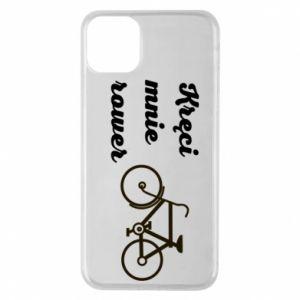 Etui na iPhone 11 Pro Max Kręci mnie rower!
