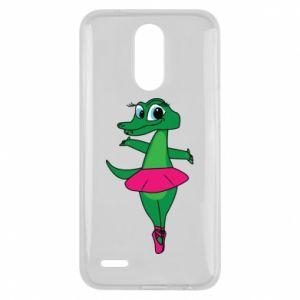 Etui na Lg K10 2017 Krokodyl-balerina