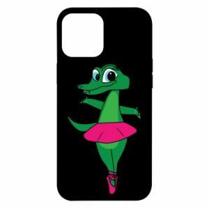 Etui na iPhone 12 Pro Max Krokodyl-balerina