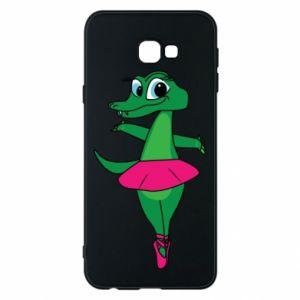 Etui na Samsung J4 Plus 2018 Krokodyl-balerina