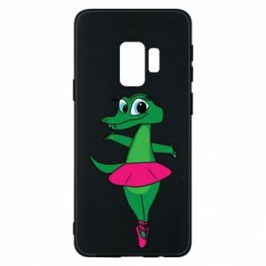 Etui na Samsung S9 Krokodyl-balerina