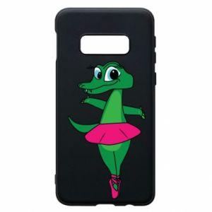 Etui na Samsung S10e Krokodyl-balerina