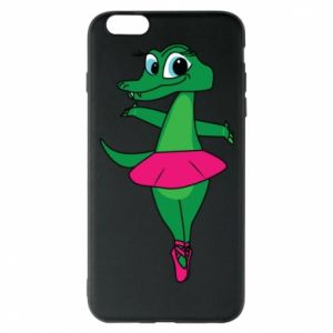 Etui na iPhone 6 Plus/6S Plus Krokodyl-balerina