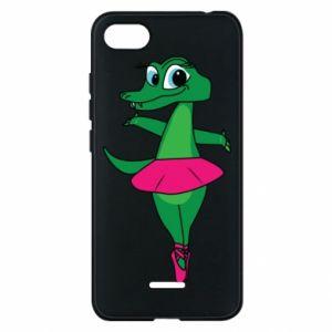 Etui na Xiaomi Redmi 6A Krokodyl-balerina