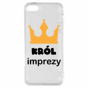 Phone case for iPhone 5/5S/SE Party king - PrintSalon