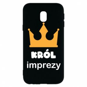 Phone case for Samsung J3 2017 Party king - PrintSalon