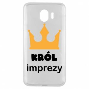Phone case for Samsung J4 Party king - PrintSalon