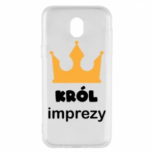 Phone case for Samsung J5 2017 Party king - PrintSalon