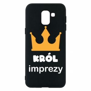 Phone case for Samsung J6 Party king - PrintSalon