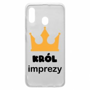 Phone case for Samsung A20 Party king - PrintSalon