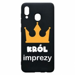 Phone case for Samsung A30 Party king - PrintSalon