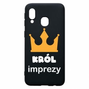 Phone case for Samsung A40 Party king - PrintSalon