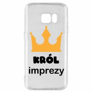 Phone case for Samsung S7 Party king - PrintSalon