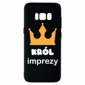Phone case for Samsung S8 Party king - PrintSalon