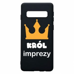 Phone case for Samsung S10 Party king - PrintSalon