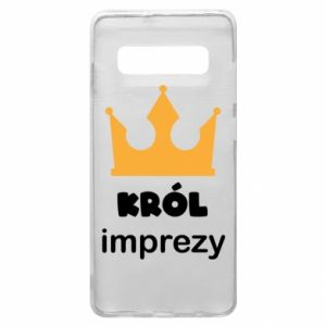 Phone case for Samsung S10+ Party king - PrintSalon