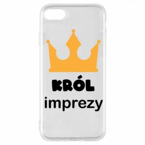 Phone case for iPhone 7 Party king - PrintSalon
