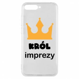Phone case for Huawei Y6 2018 Party king - PrintSalon