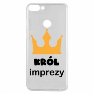 Phone case for Huawei P Smart Party king - PrintSalon