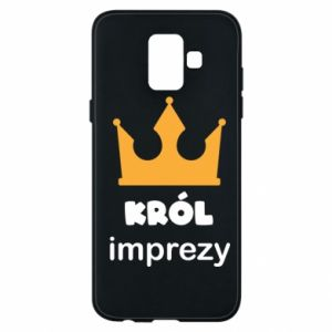 Phone case for Samsung A6 2018 Party king - PrintSalon