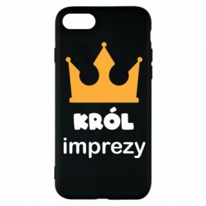 Phone case for iPhone 8 Party king - PrintSalon