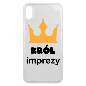 Phone case for iPhone Xs Max Party king - PrintSalon
