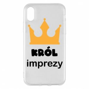 Phone case for iPhone X/Xs Party king - PrintSalon