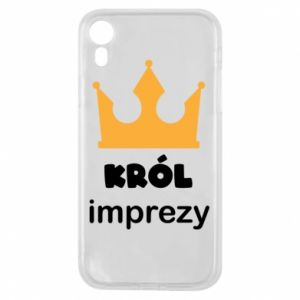 Phone case for iPhone XR Party king - PrintSalon