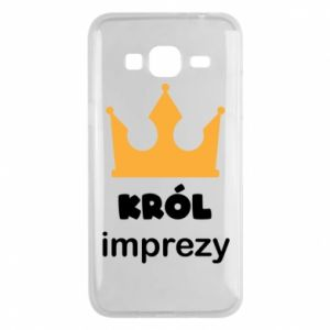 Phone case for Samsung J3 2016 Party king - PrintSalon