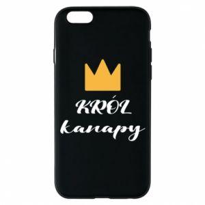 Etui na iPhone 6/6S Król kanapy