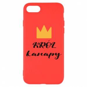 Etui na iPhone SE 2020 Król kanapy