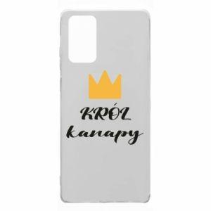 Etui na Samsung Note 20 Król kanapy