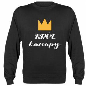 Bluza (raglan) Król kanapy