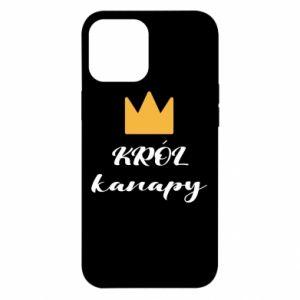 Etui na iPhone 12 Pro Max Król kanapy