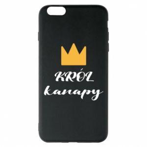 Etui na iPhone 6 Plus/6S Plus Król kanapy